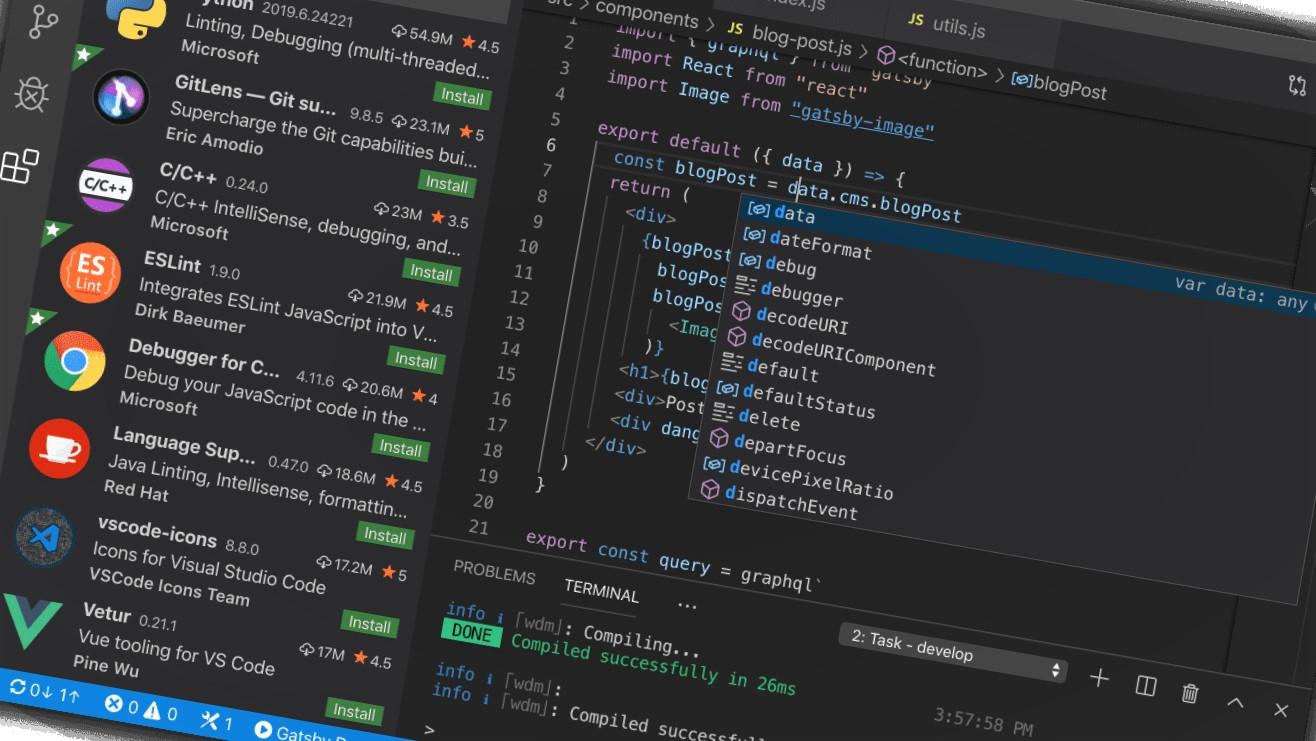 Visual Studio Extensões